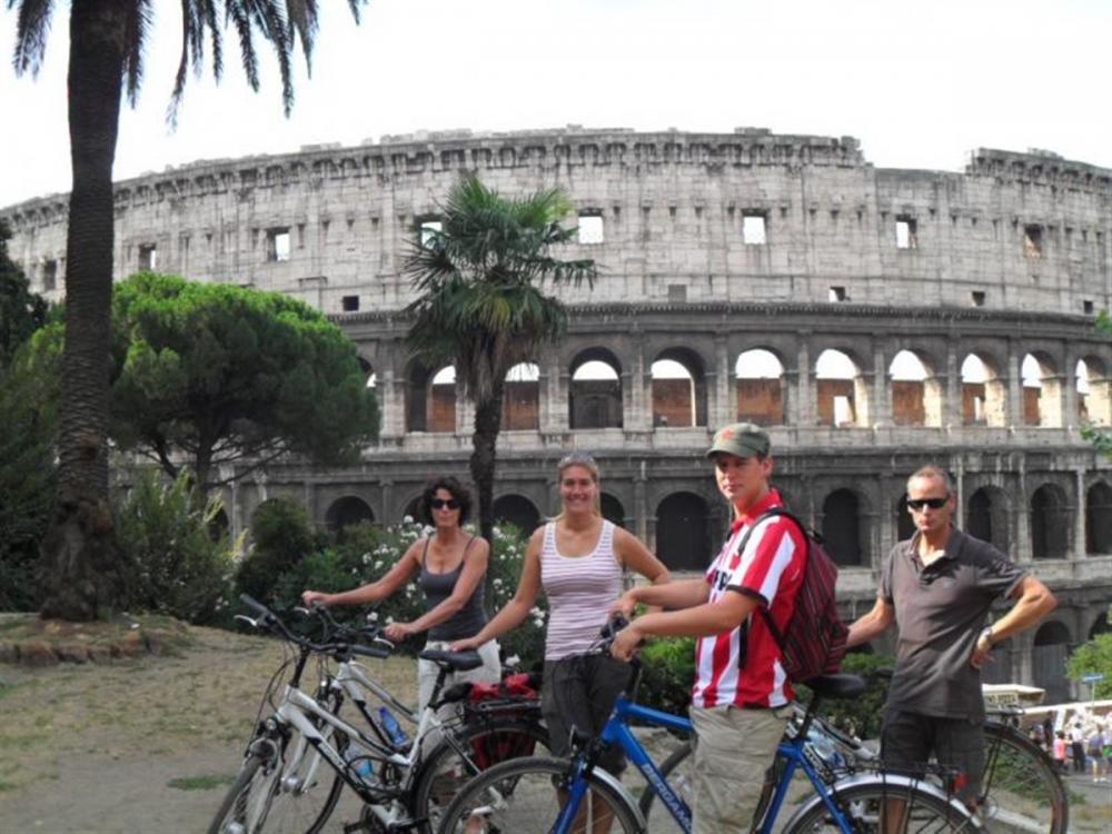 Fiets langs de hoogtepunten van Rome