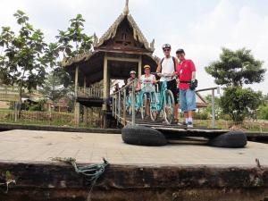 Fietstocht door Bangkok