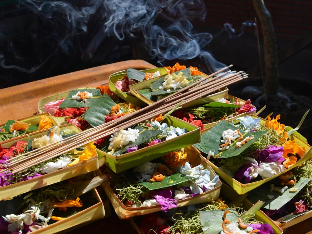 Traditioneel Balinese Ceremonie