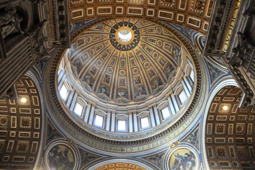 Bezoek de Sint Pieter Basiliek