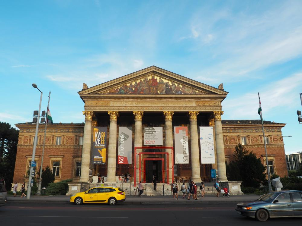 Musea op het Heldenplein