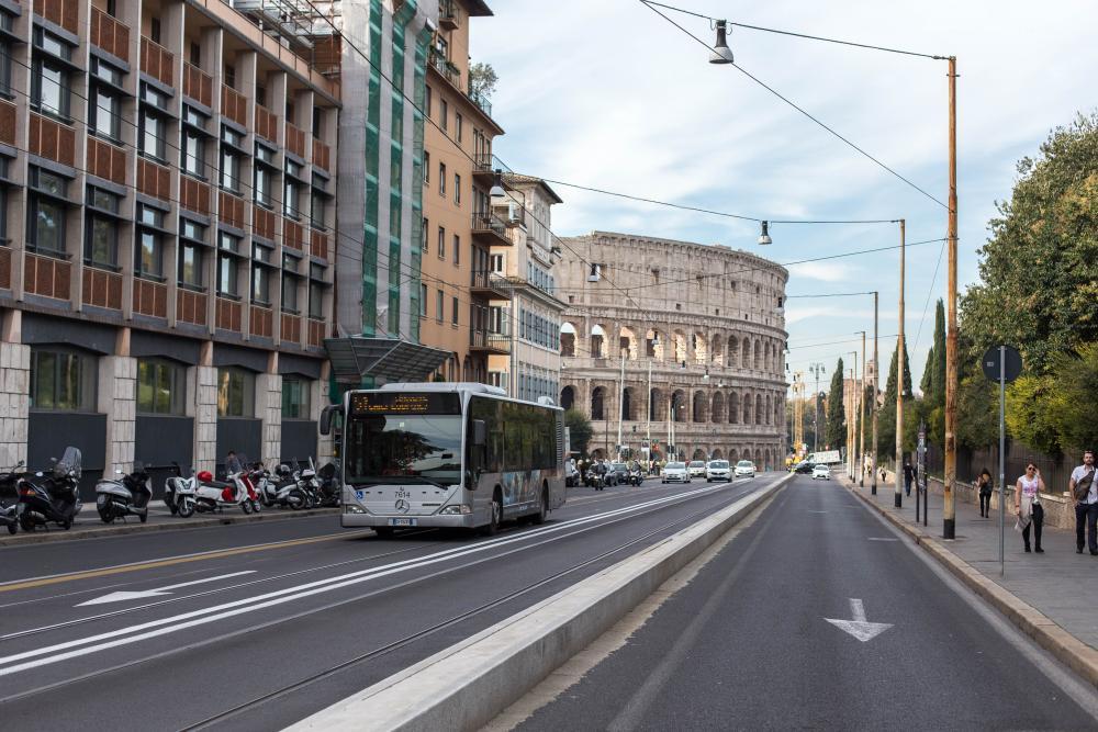 Openbaar Vervoer in Rome