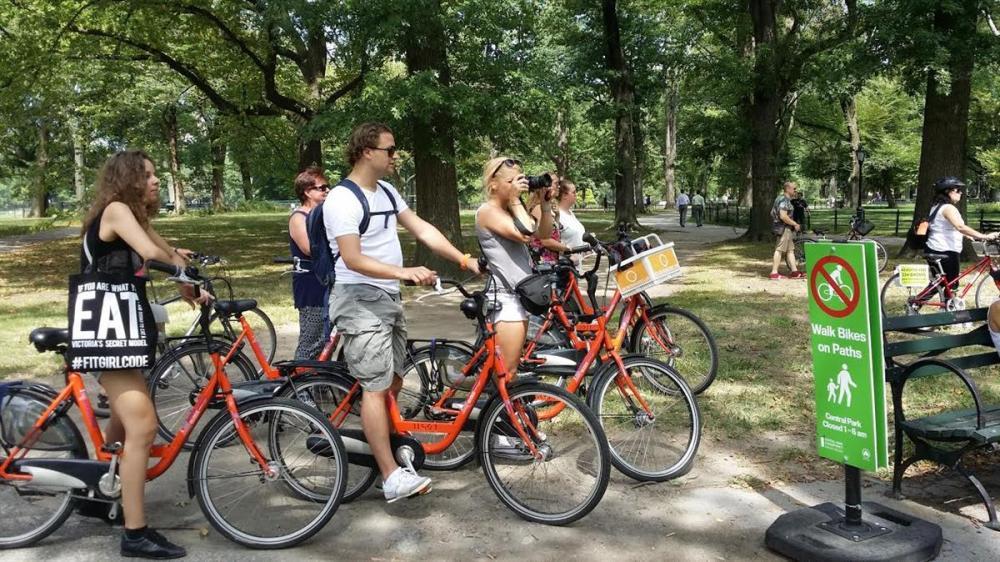 Central Park fietstour