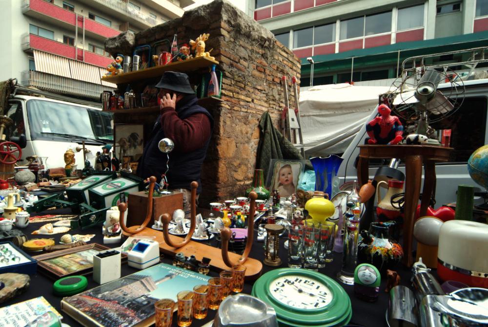 Porta Portese Vlooienmarkt
