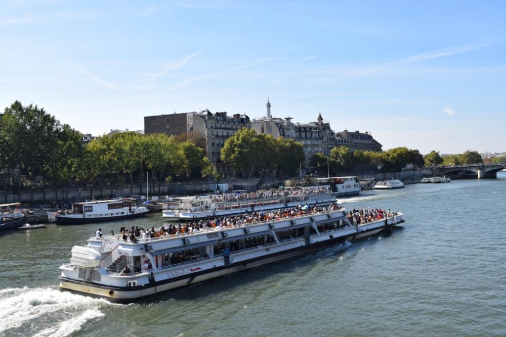 Rondvaart over de Seine