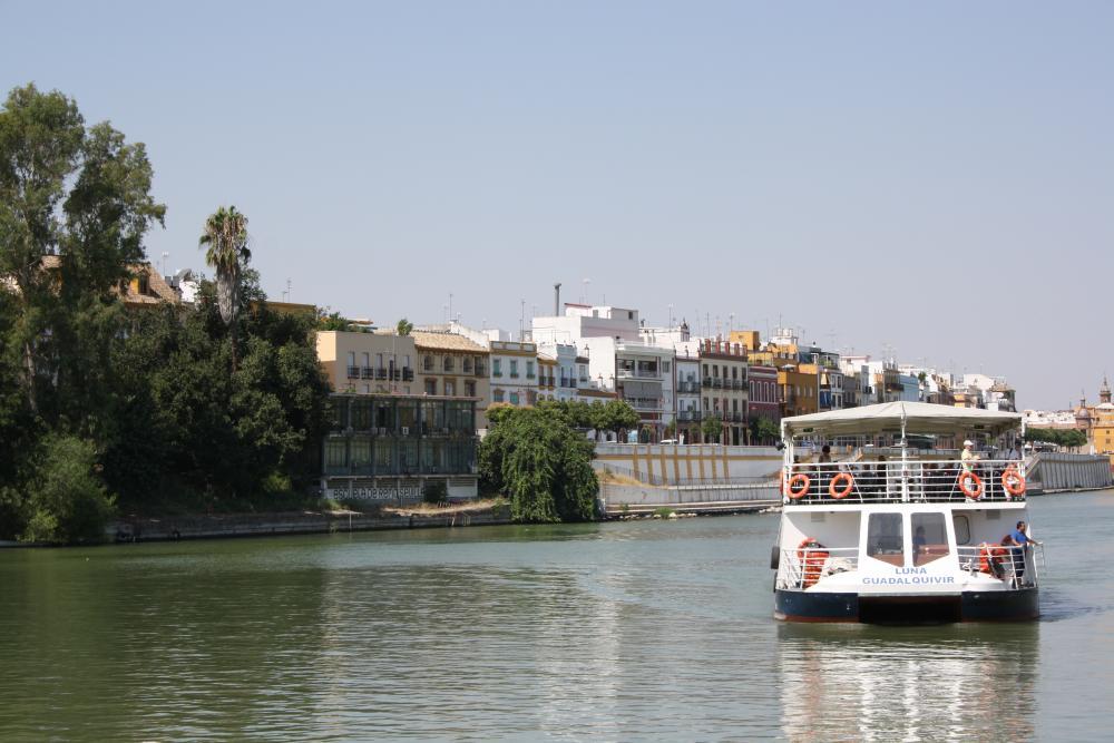 Verken de Guadalquivir-rivier