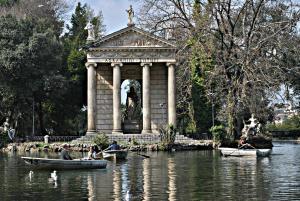 Ontdek het grootste centrale natuurpark van Rome: Villa Borghese