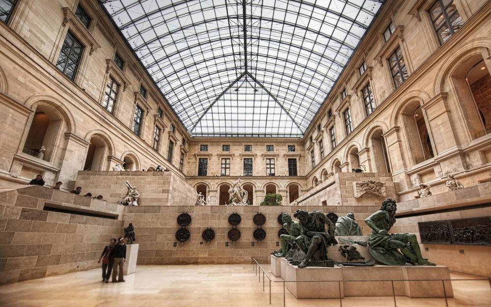 Schatzoeken in het Louvre