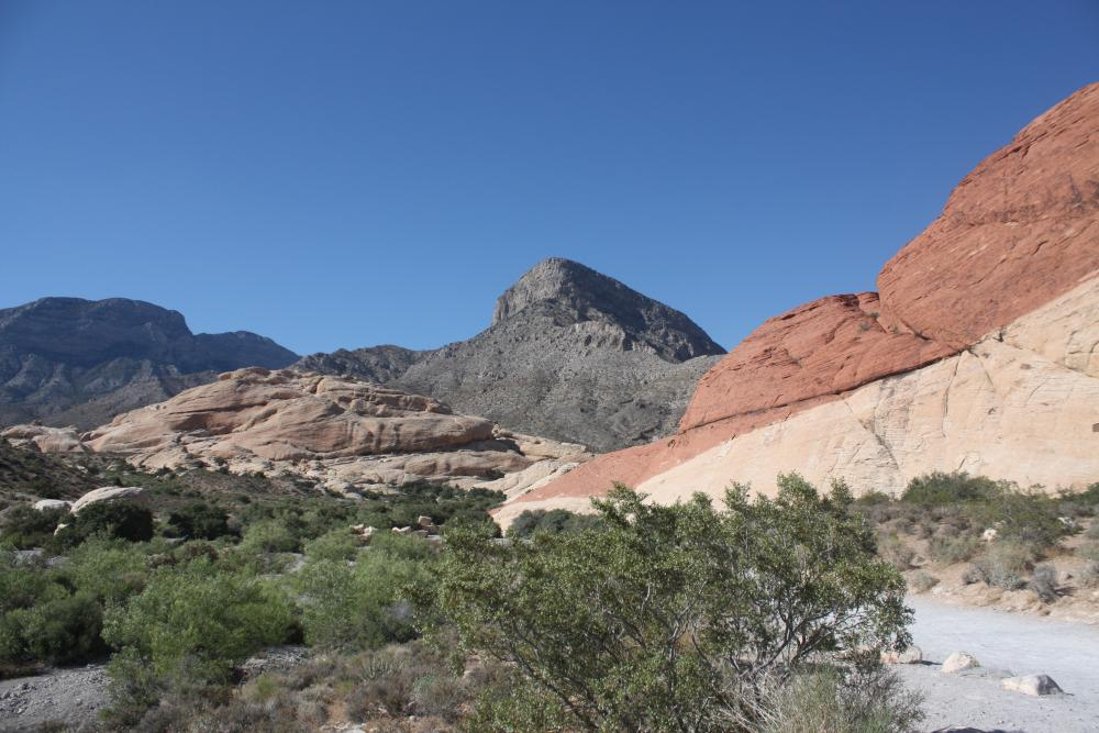 Hiken in Red Rock Canyon