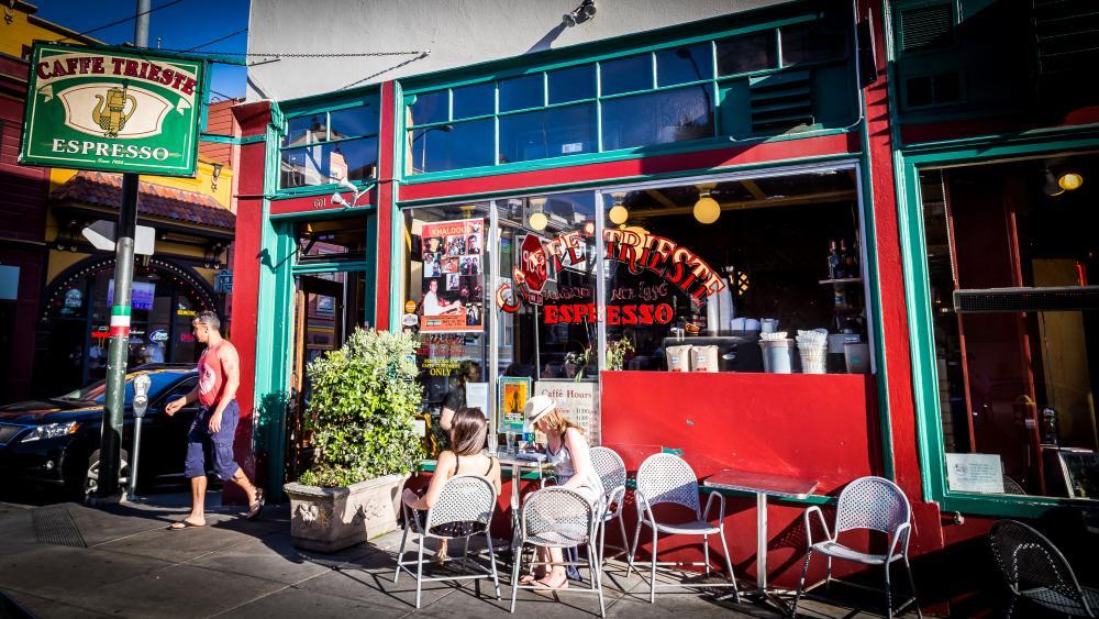Bezoek het historische Caffe Trieste