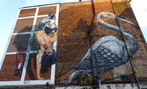 Bekijk verbazingwekkende straatkunst in Shoreditch