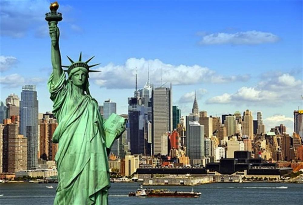Aanschouw Lady Liberty in al haar glorie