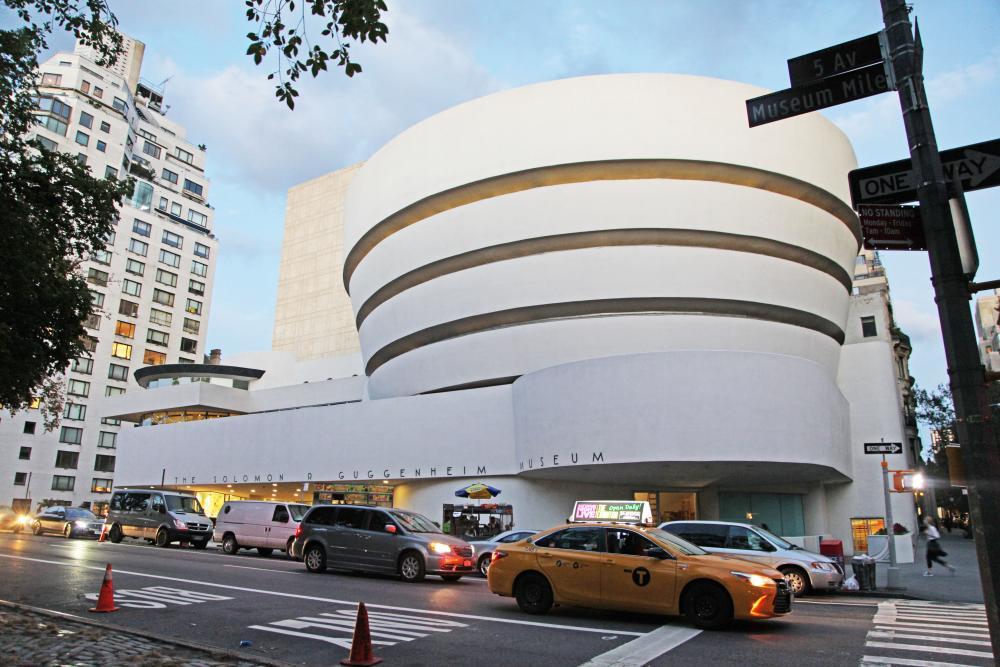 Bezoek het Guggenheim