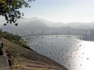 Hiken op Morro da Urca