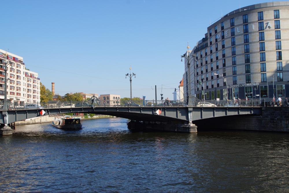Wandel langs de Spree-rivier