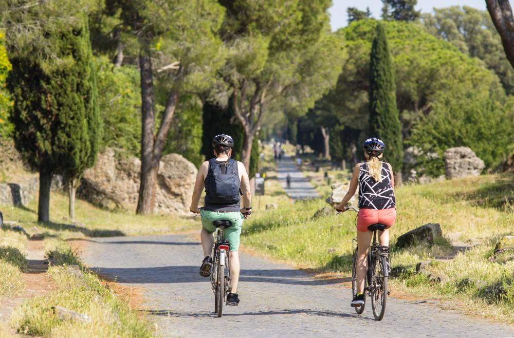 Huur een fiets en ontdek het Regionale Park Appian Weg