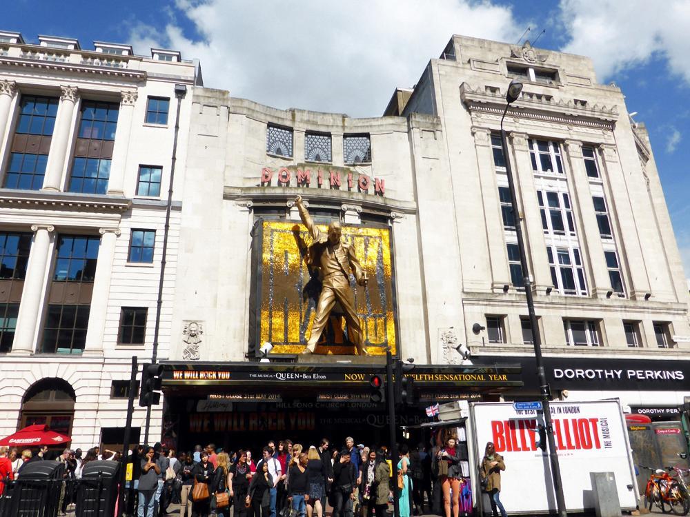 Het Theaterdistrict van Londen