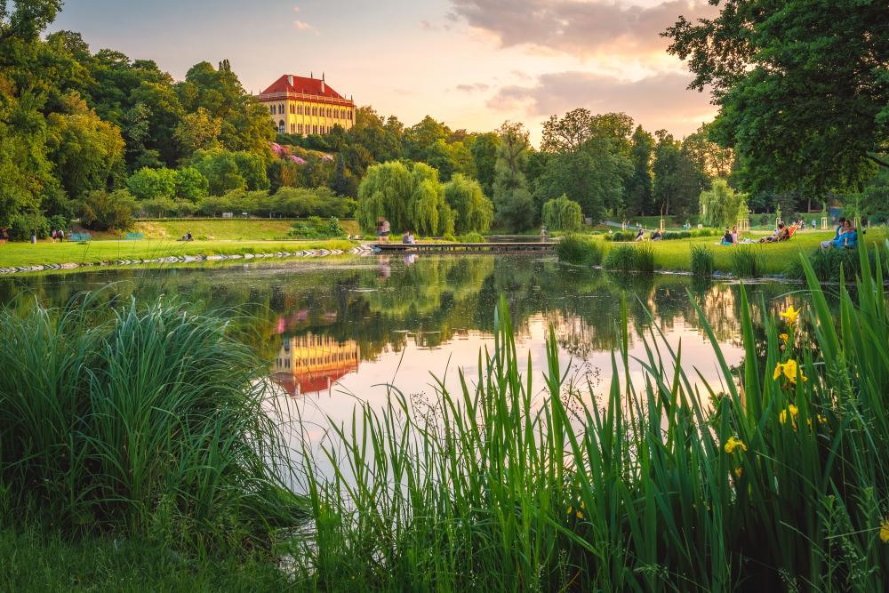 Picknick in Stromovka Park