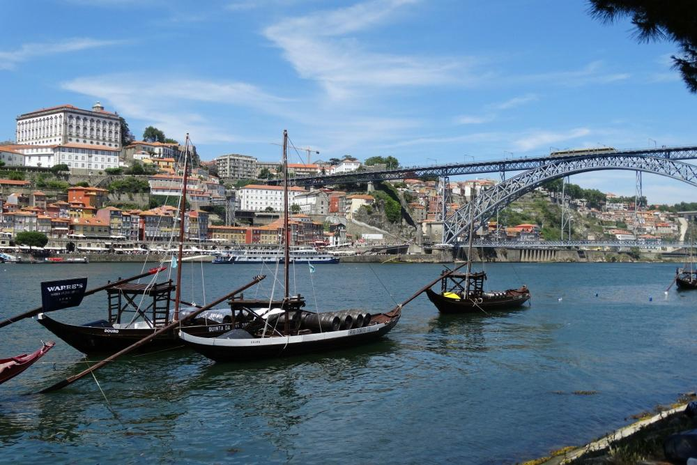 Cruise over de Douro-rivier