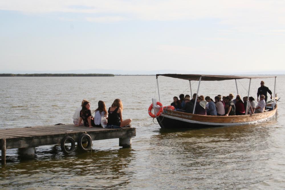 Boottocht op het meer van Albufera