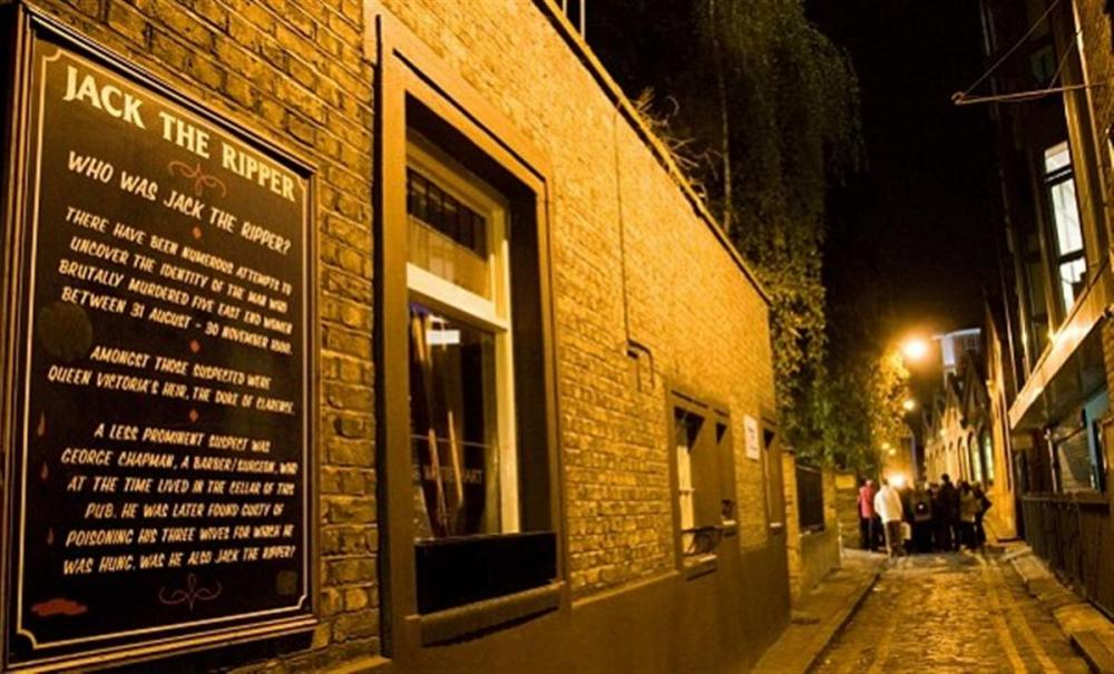 Jack the Ripper wandeltour