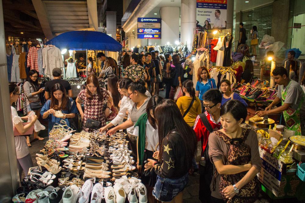 Winkelopeningstijden en betaalmogelijkheden Bangkok