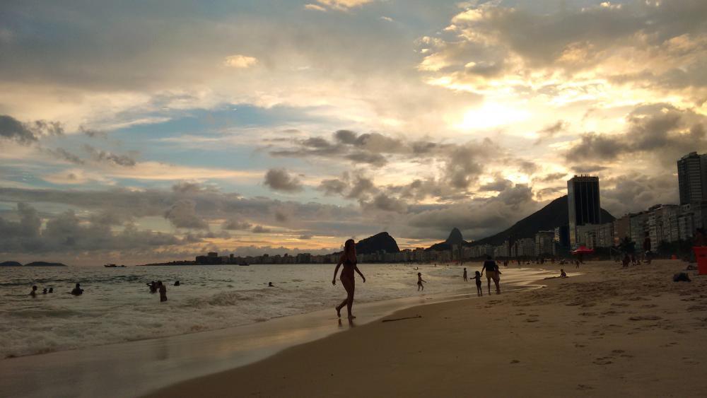 Strand van Copacabana