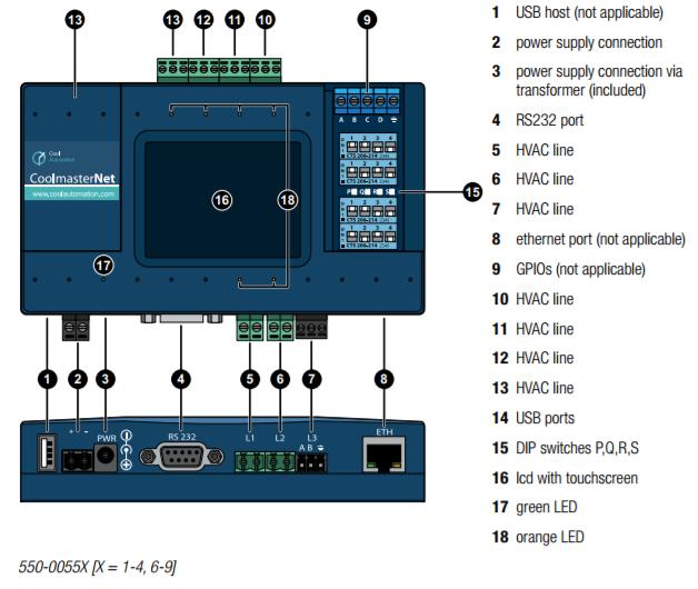 Hvac Interface Hardware Manual Niko Home Control 1 0