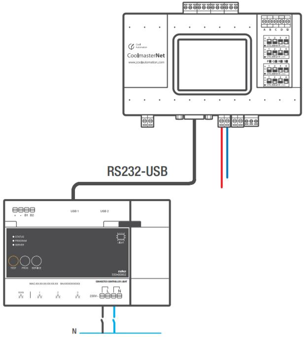 Hvac Interface Hardware Manual Niko Home Control Ii