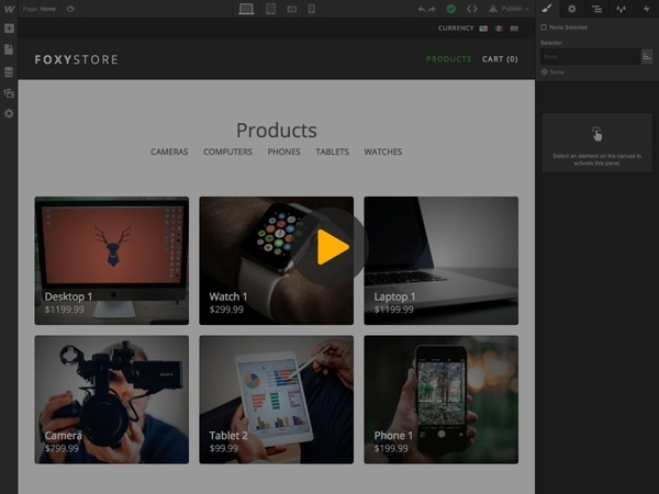 Manage Product Inventory with Webflow's CMS - Foxy