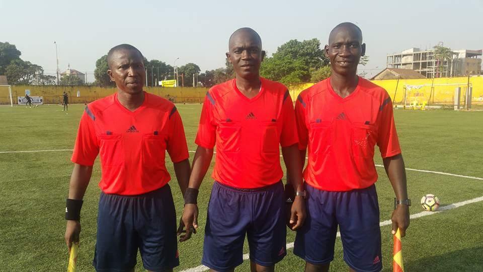 """Résultat de recherche d'images pour """"l'arbitre guinéen Aboubacar Mario Bangoura"""""""