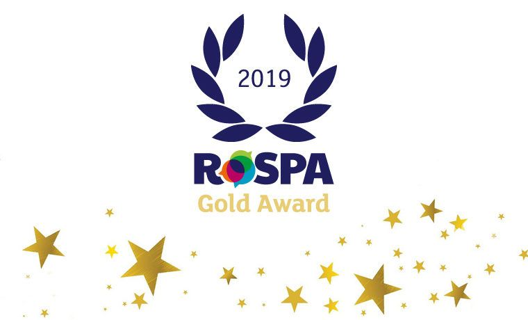 Rospa Gold Banner