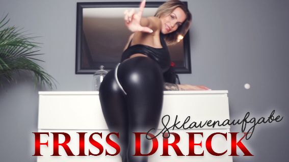 Friss Dreck Sklavenköter - Erniedrigung PUR