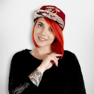 What the Hell - Snapback mit Fotodruck