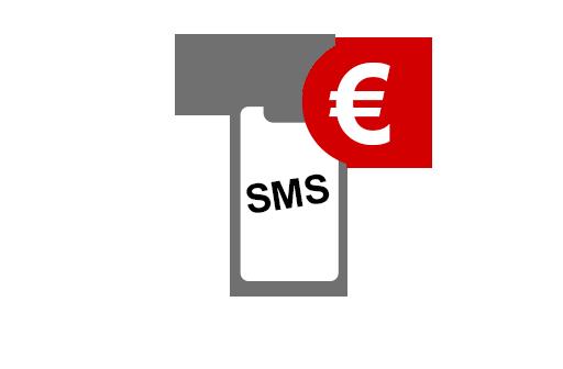 Zahlen per SMS