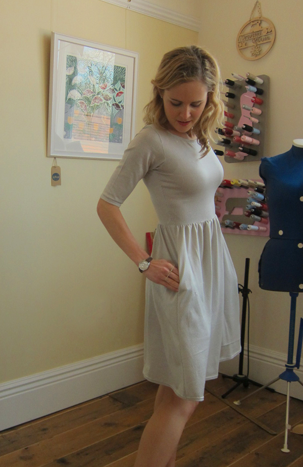 New Colette Patterns and My Completed Moneta Dress - Guthrie & Ghani