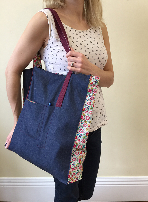 The Ultimate Fancy Shopping Bag Tutorial Guthrie & Ghani