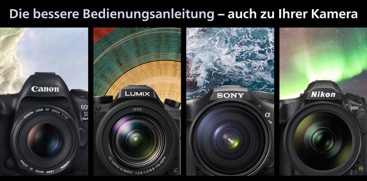 Alle Kamerahandbücher im Überblick