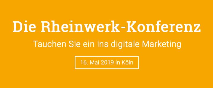 Die Rheinwerk-Konferenz