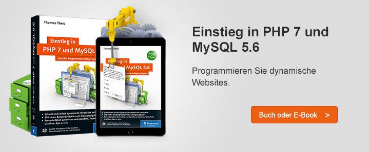 PHP 7 und MySQL 5.6