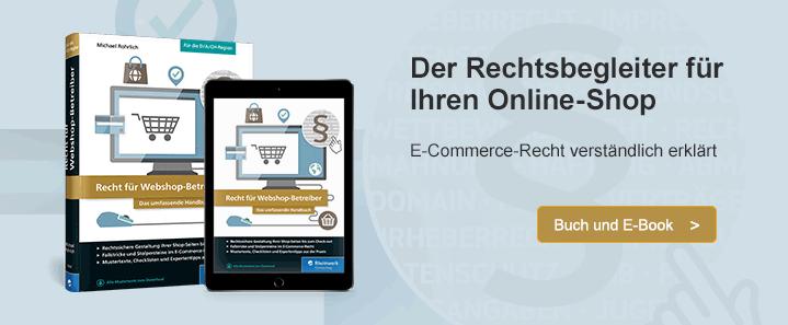 Recht im E-Commerce