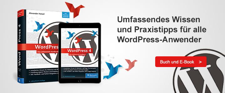 WordPress 4 – Ausgabe 2017