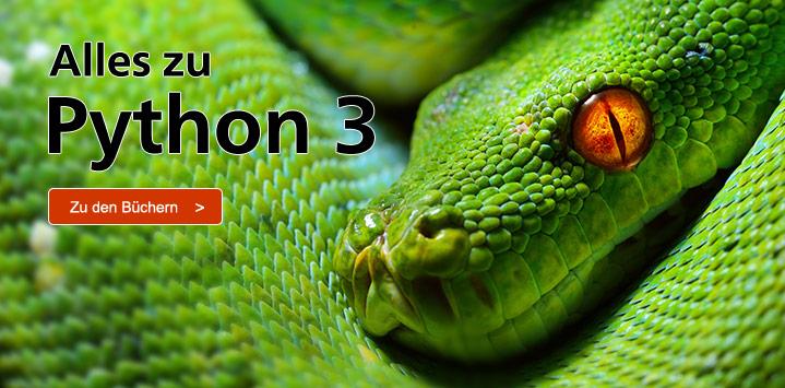 Bücher zu Python 3