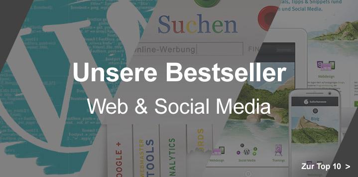 Unsere Bestseller Web & Social Media