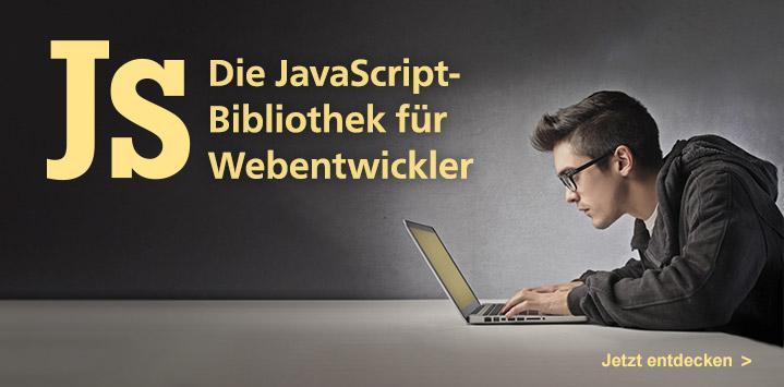 Die JavaScript-Bibliothek im Rheinwerk Verlag