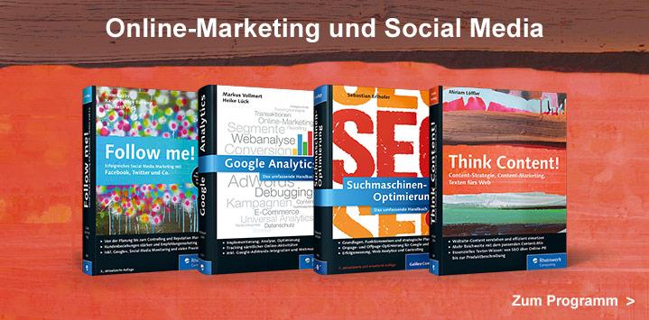 Bücher und Video-Trainings zum Online-Marketing