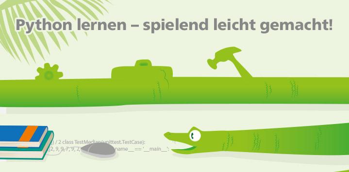Der Python-Einstieg im Rheinwerk Verlag
