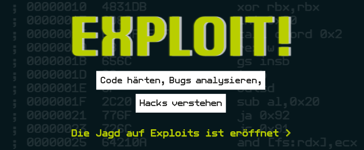 Die Kunst des Exploits