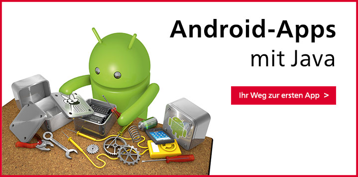 Android-Apps mit Java