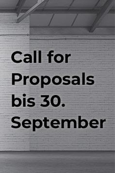 KKON. Call for Proposals